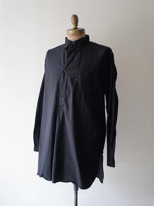 "1940's ""Swedish Military"" Sleeping shirt -Black- -size 42-"