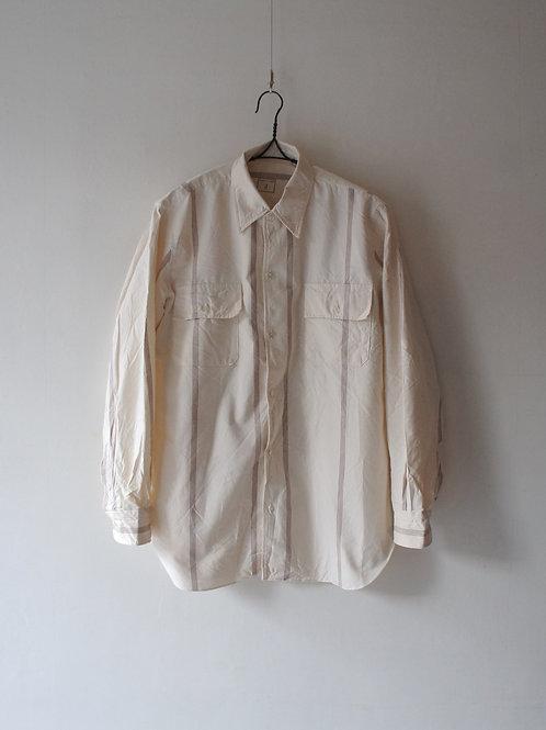 1960-70's Italian Prisoner Shirt -Deadstock- size 4
