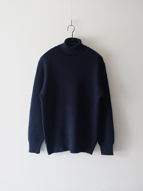 "1980's ""Italian Navy"" Turtleneck Sweater -Deadstock- ""size L"""