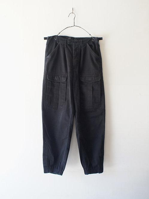 1960-70's Unknown Black Cargo Pants