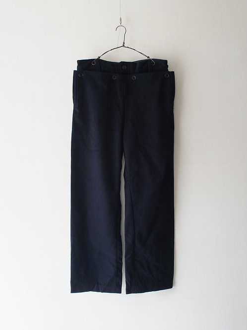 "1950-60's ""Italian Navy"" Melton Sailor Pants"