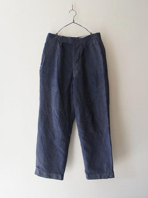 1960's German Wool Flannel Trousers