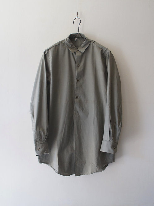 "1960's ""Czech Military"" Sleeping shirt -Deadstock- -size 38-"