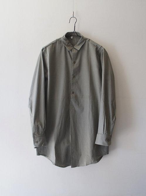 "1960's ""Czech Military"" Sleeping shirt -Deadstock- -size 39-"