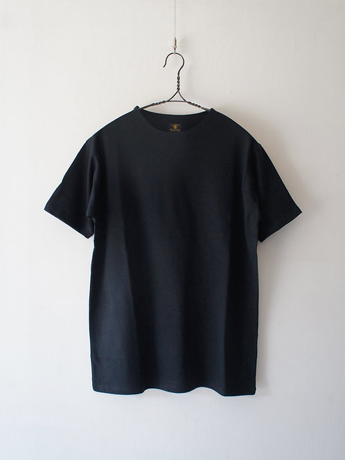 """Django Atour"" cotton belgiumlinen halfsleeve ""black"" -size 2-"