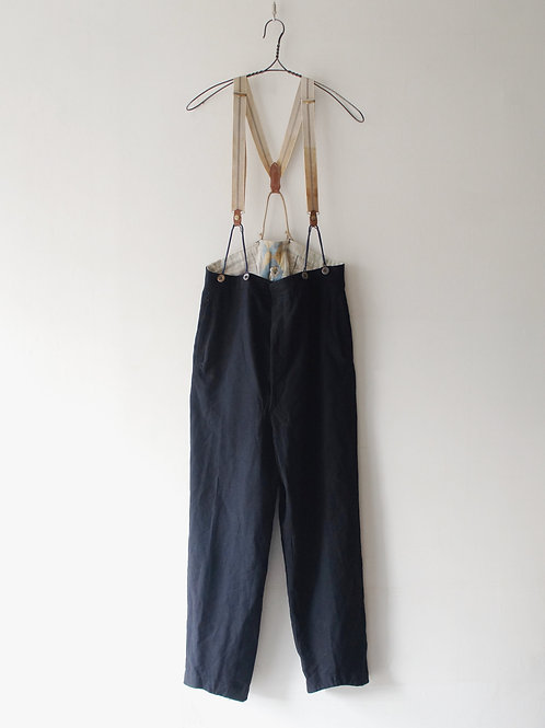1930's French Trousers with Suspender