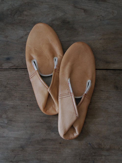 "1950-60's ""French Military"" Leather Slipper -Deadstock-"