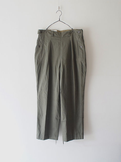 """1960's """"French Military"""" Woman Trousers -Deadstock-"""