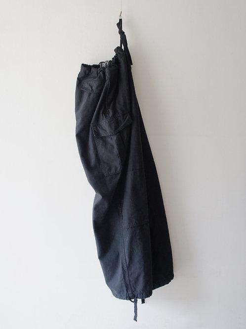 "1980's ""Belgium Military"" M-88 Field pants -Black-"