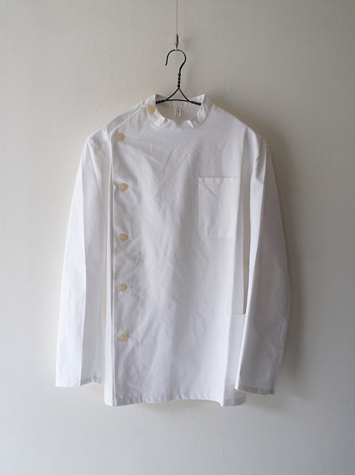 "1970's ""Italian Military"" Cock shirt -Deadstock- -size 44-"