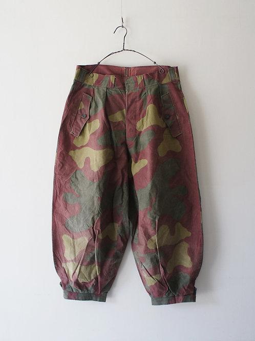 "1950-60's ""Italian Military"" San marco camo pants"