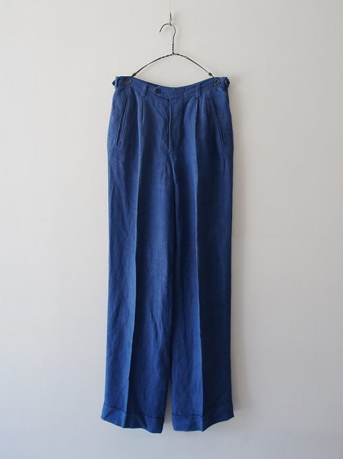 1960-70's Italy linen trousers