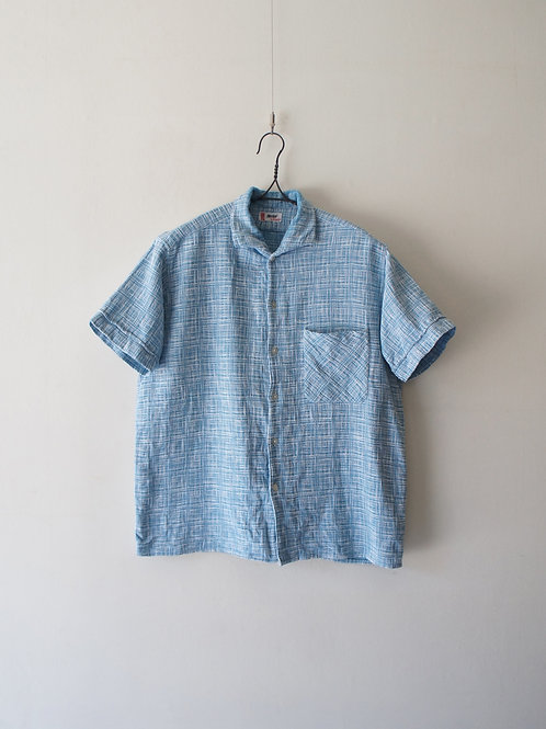 1950's French Check S/S Shirt