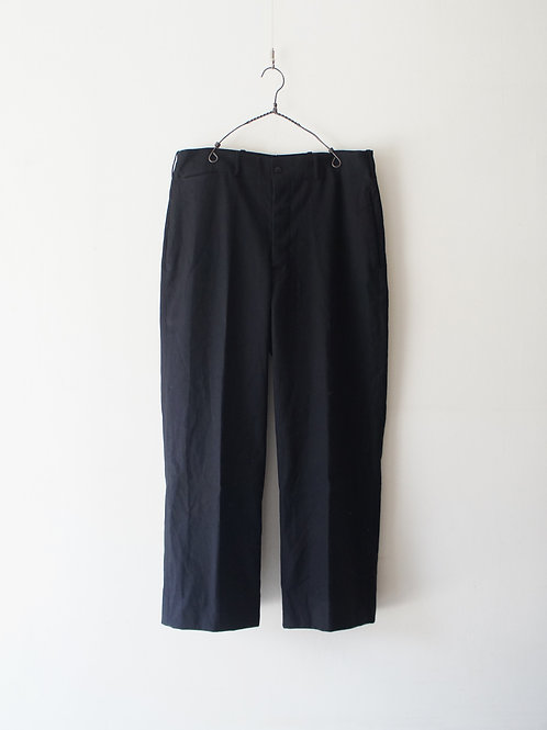 1940-50's French Black Wool Trousers