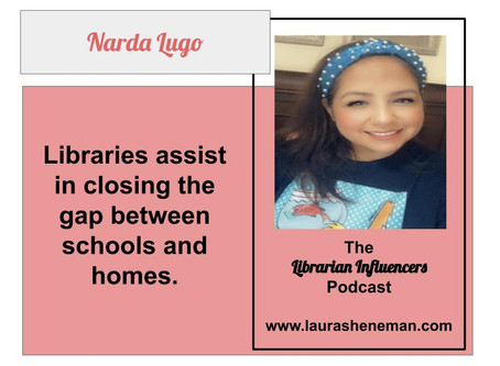 Librarians Are Crucial Links to Help Students Succeed: with Narda Lugo