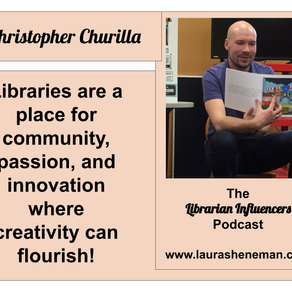 Passion, Innovation, and Creativty Can Flourish in the Library: with Christopher Churilla