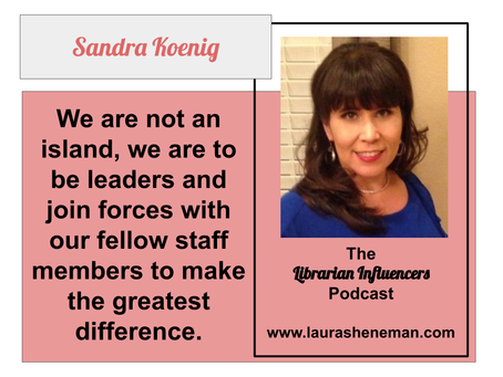 Working with Others Helps Us Go Further: with Sandra Koenig