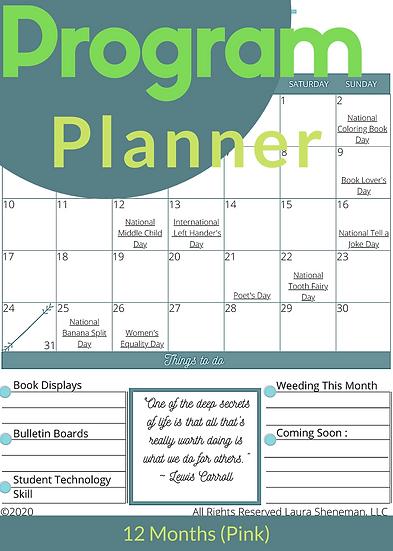 Program Planner (Green)
