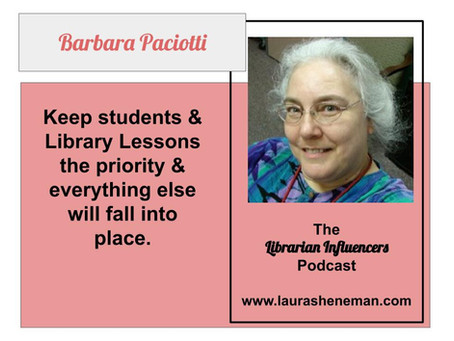 The Legacy of Librarianship Continues Because of Best Practices: with Barbara Paciotti