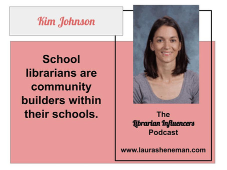 Librarians are Community Builders: with Kim Johnson