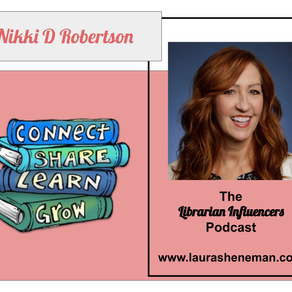 Connect, Share, Learn Grow: with Nikki D. Robertson