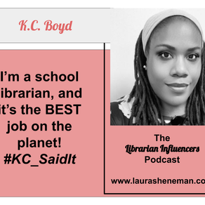 The School Librarian Is an Equity Champion: with K.C. Boyd