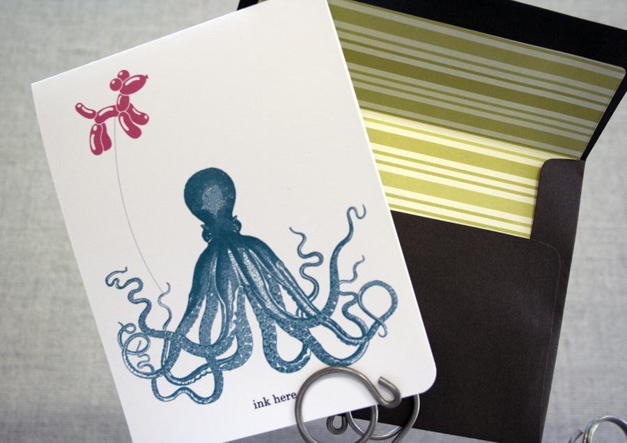 Octopus Greetings