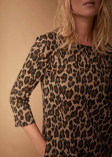 Robe motif léopard FC5369 La Fée Maraboutée