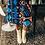 Robe imprimé Patchwork RONA Yuka