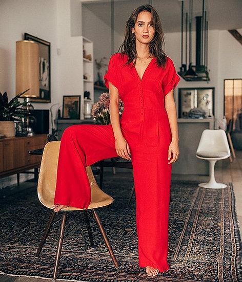 Combinaison pantalon manches courtes OLIVIA Yuka