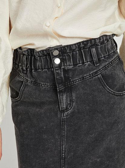 Jupe en jean taille haute VIMAZEL VILA