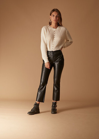 Pantalon effet cuir FC5301 La Fée Maraboutée