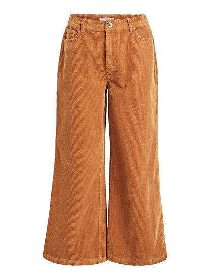 Pantalon velours 7/8 large Viriya VILA