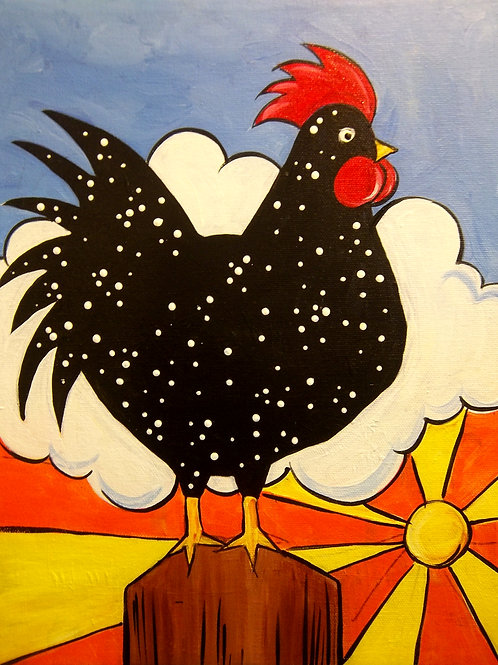 Dotted Rooster