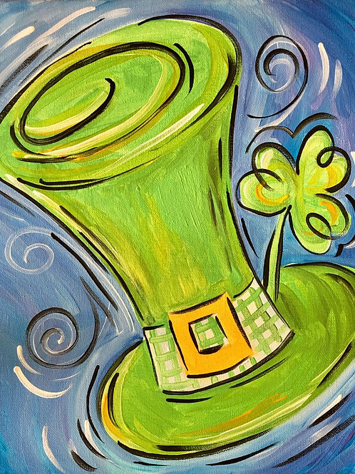 March 3, Tuesday, St. Patrick Hat 2, 6:30