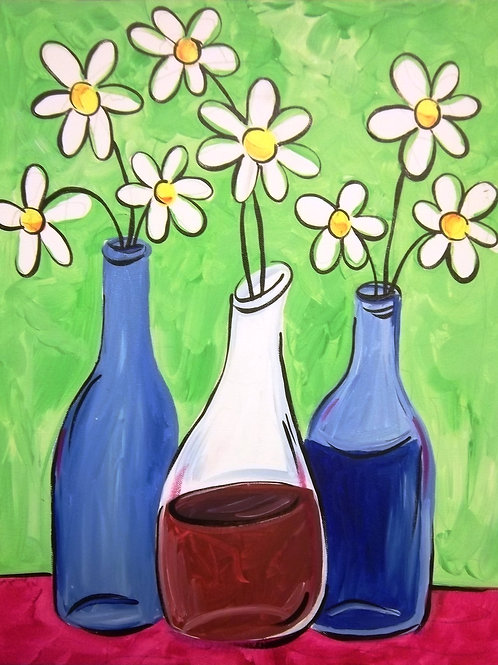 March 12,Thursday, Open Paint Night, 6:30