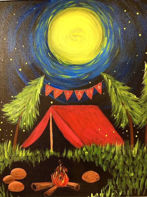 October 19, Tuesday, Camping Dreams, 6:30-8:30 pm
