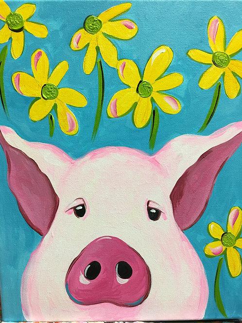July 9, Thursday, Daisy Pig, 11:00