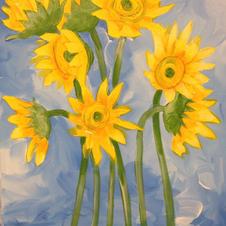 Sunflower Still Life