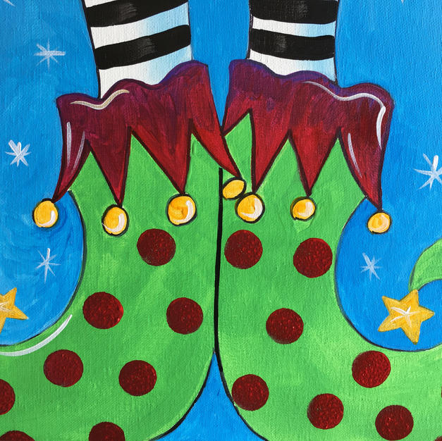 Elf Shoes Canvas