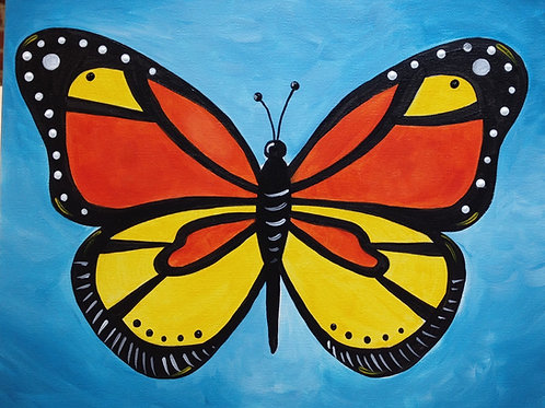 February 17, Saturday, Butterfly, 11:00