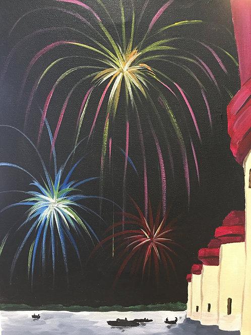 June 25, Thursday, Lake Murray Fireworks, 6:30