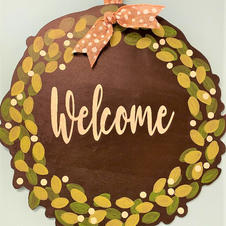 Welcome Wreath #121