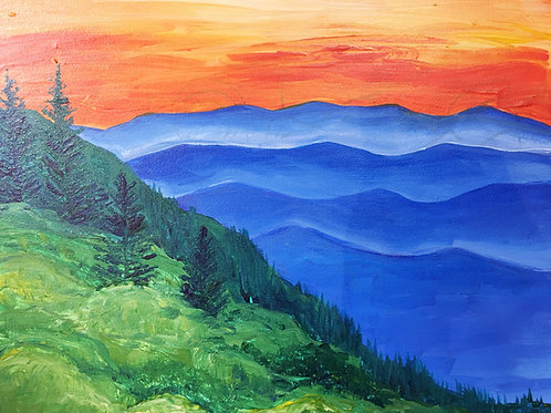 September 11, Friday, Beautiful Blue Ridge, 4:30