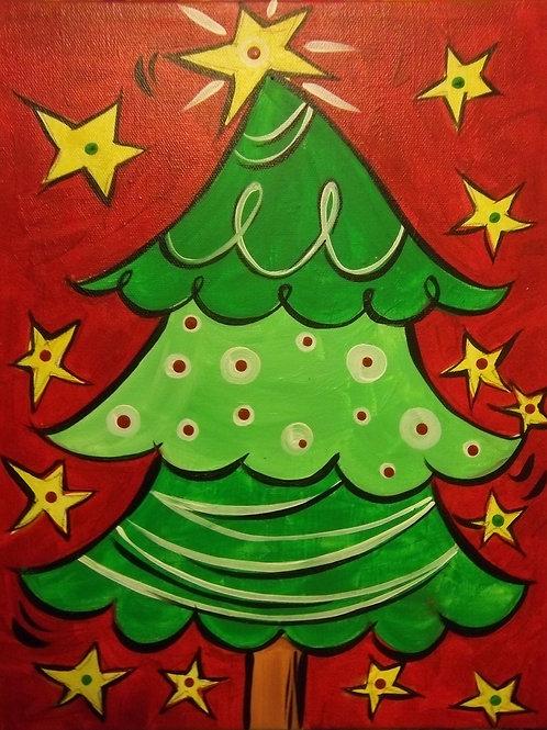 December 17, Parent/Child Canvas Paint, 5:30-7:30pm