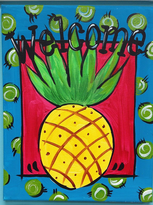 July 8, Wednesday, Welcome Pineapple, 11:00