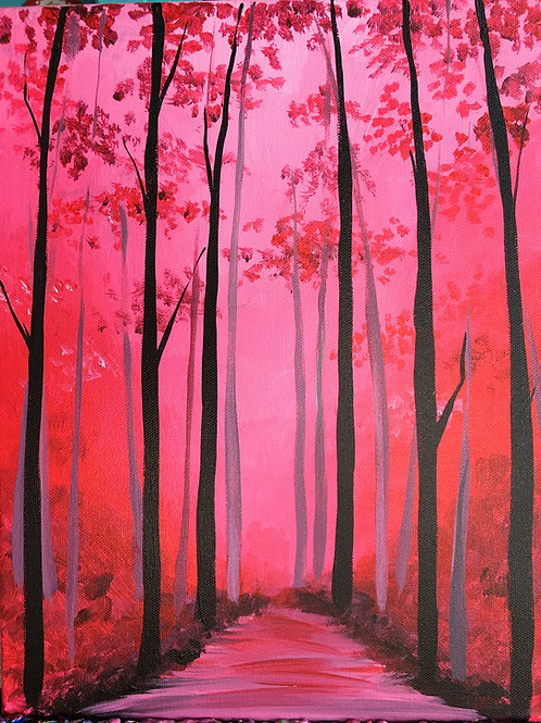 June 30, Tuesday, Red Forest, 6:30