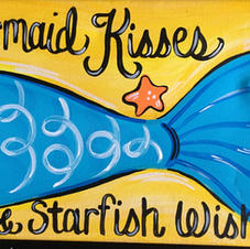 Mermaid Kisses Skinny Board