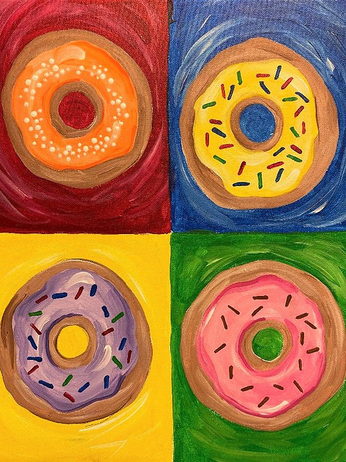 May 28, Thursday, Doughnuts, 2:00