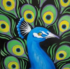 Peacock Canvas